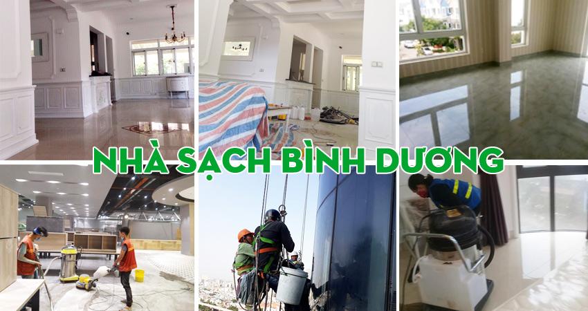 dịch vụ vệ sinh nhà tại Bình Dương
