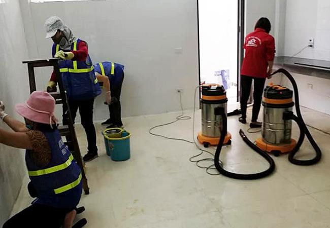 Dịch vụ vệ sinh nhà tại Dĩ An Bình Dương