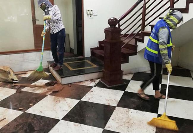 Dịch vụ vệ sinh công nghiệp tại Thị xã Thuận An